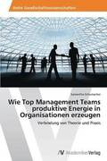 Wie Top Management Teams Produktive Energie in Organisationen Erzeugen