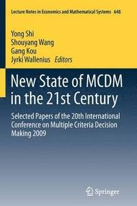 New State of MCDM in the 21st Century