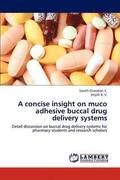 A Concise Insight on Muco Adhesive Buccal Drug Delivery Systems