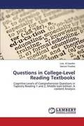 Questions in College-Level Reading Textbooks