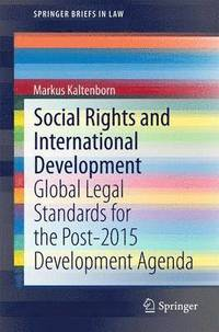 Social Rights and International Development