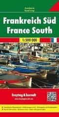 France South Road Map 1:500 000