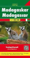 Madagascar Road Map 1:1 000 000