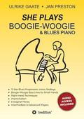 She Plays Boogie-Woogie &; Blues Piano