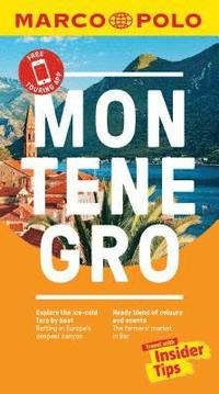 Montenegro Marco Polo Pocket Travel Guide - with pull out map