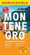 Montenegro Marco Polo Pocket Travel Guide 2018 - with pull out map