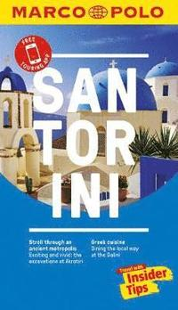Santorini Marco Polo Pocket Travel Guide - with pull out map