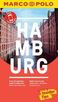 Hamburg Marco Polo Pocket Travel Guide 2019 - with pull out map