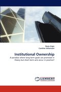Institutional Ownership