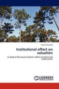 Institutional Effect on Valuation