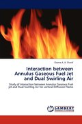 Interaction Between Annulus Gaseous Fuel Jet and Dual Swirling Air
