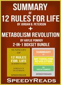 Summary of 12 Rules for Life: An Antidote to Chaos by Jordan B. Peterson + Summary of  Metabolism Revolution by Haylie Pomroy 2-in-1 Boxset Bundle