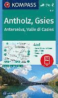 KOMPASS Wanderkarte Antholz, Gsies, Anterselva, Valle di Casies 1:25 000