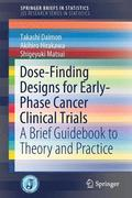 Dose-Finding Designs for Early-Phase Cancer Clinical Trials
