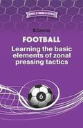 Football. Learning the basic elements of zonal pressing tactics.