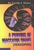 A Proving of Maccasin Snake