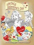 VINTAGE Valentines day coloring books for adults