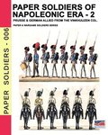 Paper soldiers of Napoleonic era -2