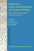Advances in Corpus-based Research on Academic Writing