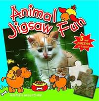 Animals Around Me: Animal Jigsaw Fun