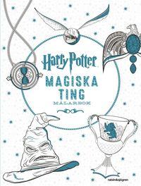 Harry Potter Magiska ting Målarbok