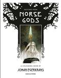 Sketches from Norse Gods - A Colouring Book :