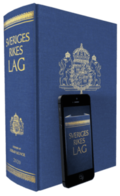 Sveriges Rikes Lag 2021 (klotband) : När du köper Sveriges Rikes Lag 2021 får du även tillgång till lagboken som app med riktig lagbokskänsla.