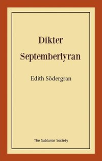 Dikter: septemberlyran