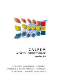 CALFEM - A finite element toolbox Version 3.4