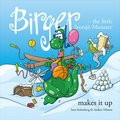 Birger - the little Storsjö Monster makes it up