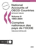 National Accounts of OECD Countries 2006, Volume II, Detailed Tables