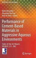 Performance of Cement-Based Materials in Aggressive Aqueous Environments