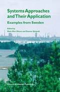 Systems Approaches and Their Application