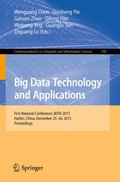 Big Data Technology and Applications
