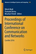 Proceedings of International Conference on Communication and Networks