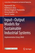 Input-Output Models for Sustainable Industrial Systems