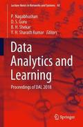 Data Analytics and Learning