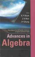 Advances In Algebra, Proceedings Of The Icm Satellite Conference In Algebra And Related Topics