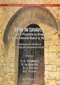 Spin In Gravity - Is It Possible To Give An Experimental Basis To Torsion?