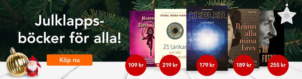 Julklappsböcker för alla.
