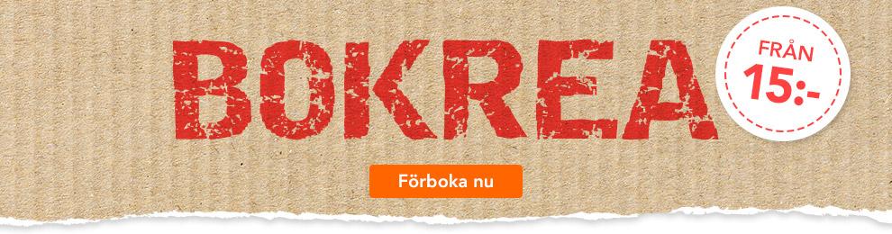Bokrea - fynda från 15 kr